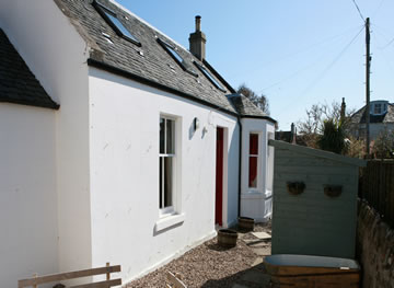 Golf Cottage, Elie Fire